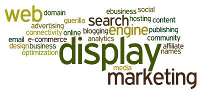 display advertising word cloud