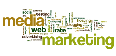 media planning and buying word cloud