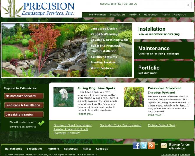 Precision Landscape Service