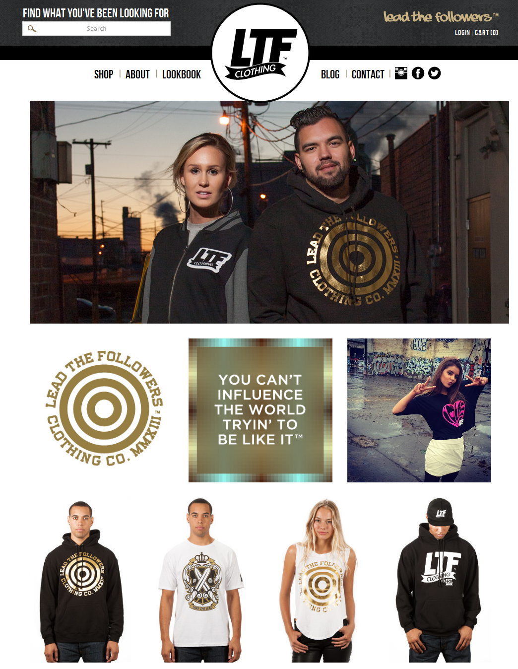 Lead The Followers – Clothing Brand